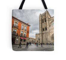 Avila Cathedral Tote Bag