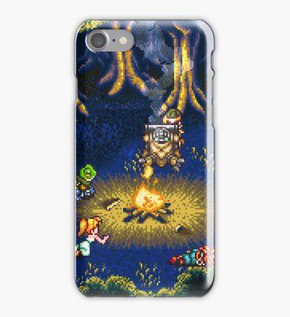 Chrono Trigger (Snes) Camp Scene iPhone Case/Skin