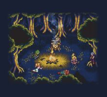 Chrono Trigger (Snes) Camp Scene by AvalancheShirts
