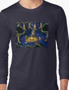 Chrono Trigger (Snes) Camp Scene Long Sleeve T-Shirt