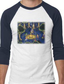 Chrono Trigger (Snes) Camp Scene Men's Baseball ¾ T-Shirt