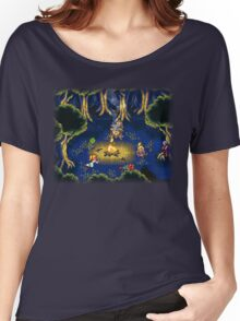 Chrono Trigger (Snes) Camp Scene Women's Relaxed Fit T-Shirt