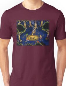 Chrono Trigger (Snes) Camp Scene Unisex T-Shirt