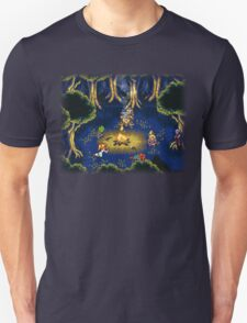 Chrono Trigger (Snes) Camp Scene T-Shirt
