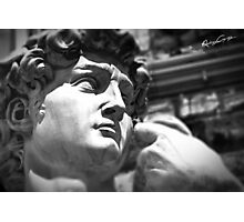 the David, Florence Tuscany Photographic Print