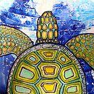 Green Sea Turtle by Lynnette Shelley