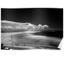 Nobby's Beach Newcastle NSW Australia Poster