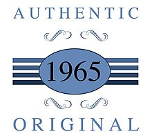 1965 Authentic Original Photographic Print