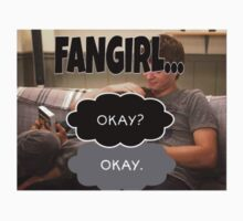 The fault in our stars fangirl Kids Tee