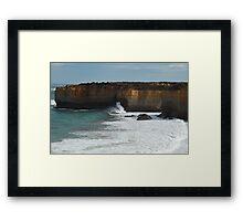 Tempest - Great Ocean Road, Victoria , Australia Framed Print