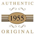 1955 Authentic Original by thepixelgarden