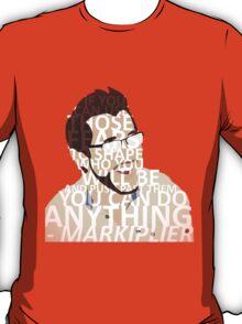 Markiplier w/ text T-Shirt
