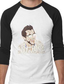 Markiplier w/ text Men's Baseball ¾ T-Shirt