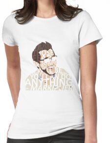 Markiplier w/ text Womens Fitted T-Shirt