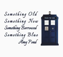 Doctor Who - Amy's Wedding Something Blue by fabalusjusfabal