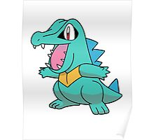 Shiny Totodile Poster