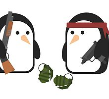 Penguin Mercenaries by Disparity