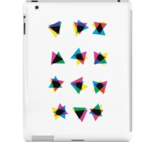 Atmospheric Noise CMYK - Random Number Generator Math Art iPad Case/Skin