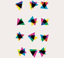 Atmospheric Noise CMYK - Random Number Generator Math Art by AquanautStudio