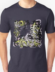 grunge leaves Unisex T-Shirt