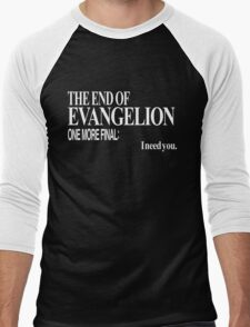 Neon Genesis Evangelion - I need you. Men's Baseball ¾ T-Shirt