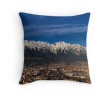 The City I live in... Throw Pillow