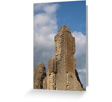 Sherborne Old Castle (8) Greeting Card