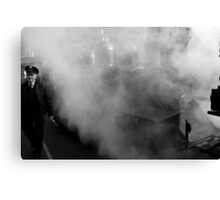 Out of the Steam Canvas Print