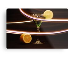 Limetini with a lemon twist Metal Print