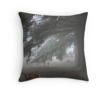 REDREAMING UNDER THE PINES Throw Pillow