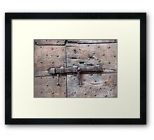 Locked Up Tight Framed Print