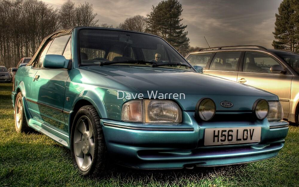 Old Skool XR3 Cabriolet by Dave Warren