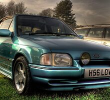 Old Skool XR3 Cabriolet by Dave Warren