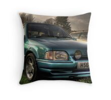 Old Skool XR3 Cabriolet Throw Pillow