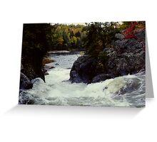 Ragged Falls Greeting Card