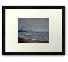 Sea Mist Framed Print