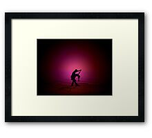 Dance me to the end of Love............... Framed Print