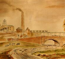 Gosforth Colliery and the Ouseburn by Colin Cartwright