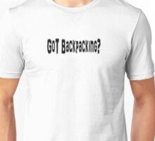 Backpacking Unisex T-Shirt