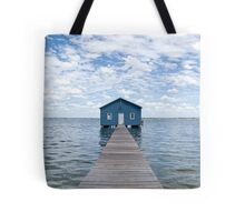 """Crawley Edge"" Boatshed, Perth, Western Australia Tote Bag"