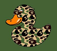 Camo Rubber Ducky by Sportswear