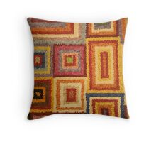 rugged psychedelia through a lens Throw Pillow