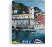 View of Vernazza Canvas Print