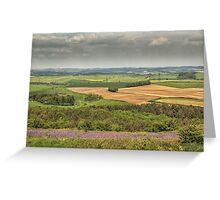 View Eggardon Hill Dorset UK Greeting Card