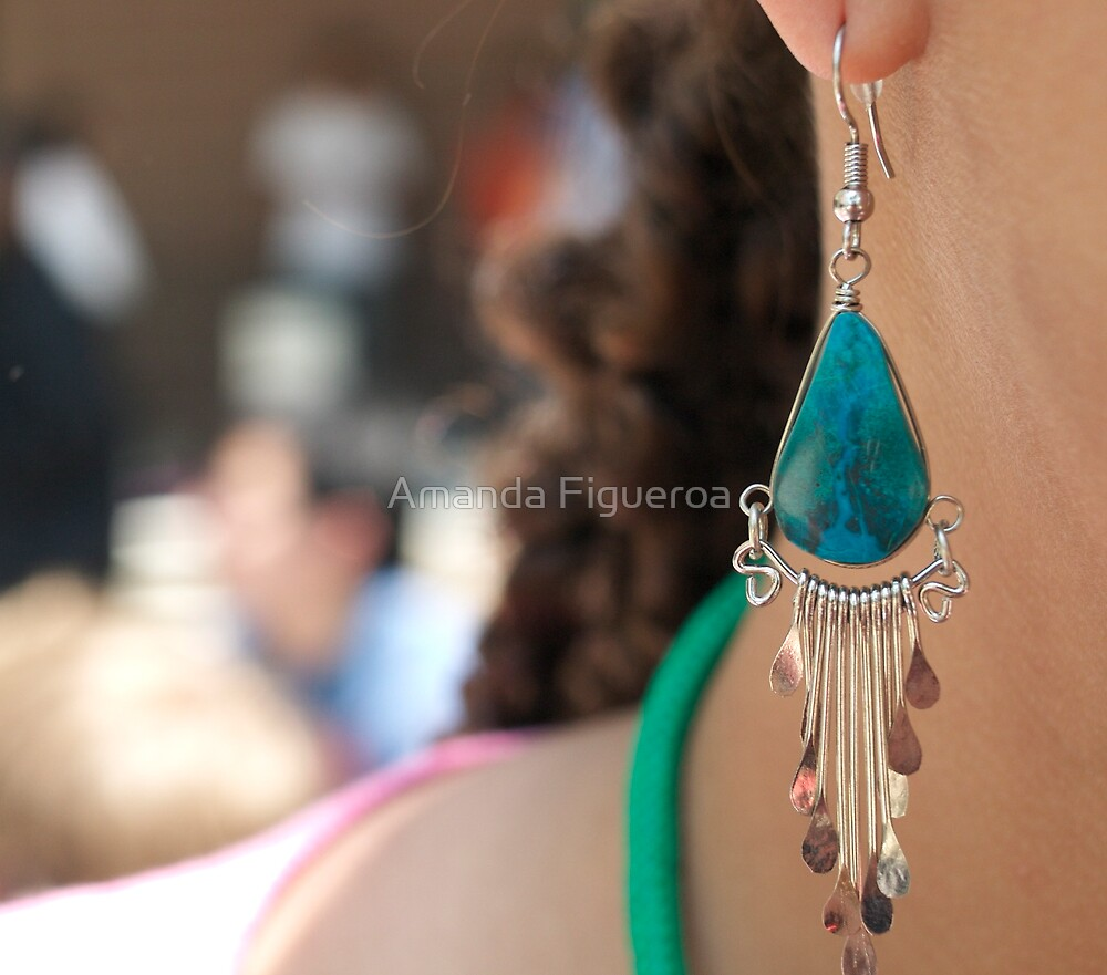 Earring  by Amanda Figueroa