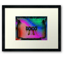 flint Framed Print