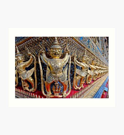 Garuda Demons Art Print