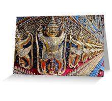 Garuda Demons Greeting Card
