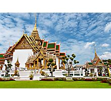 Buddhist Temple Photographic Print