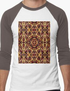 Ethnic Style Men's Baseball ¾ T-Shirt